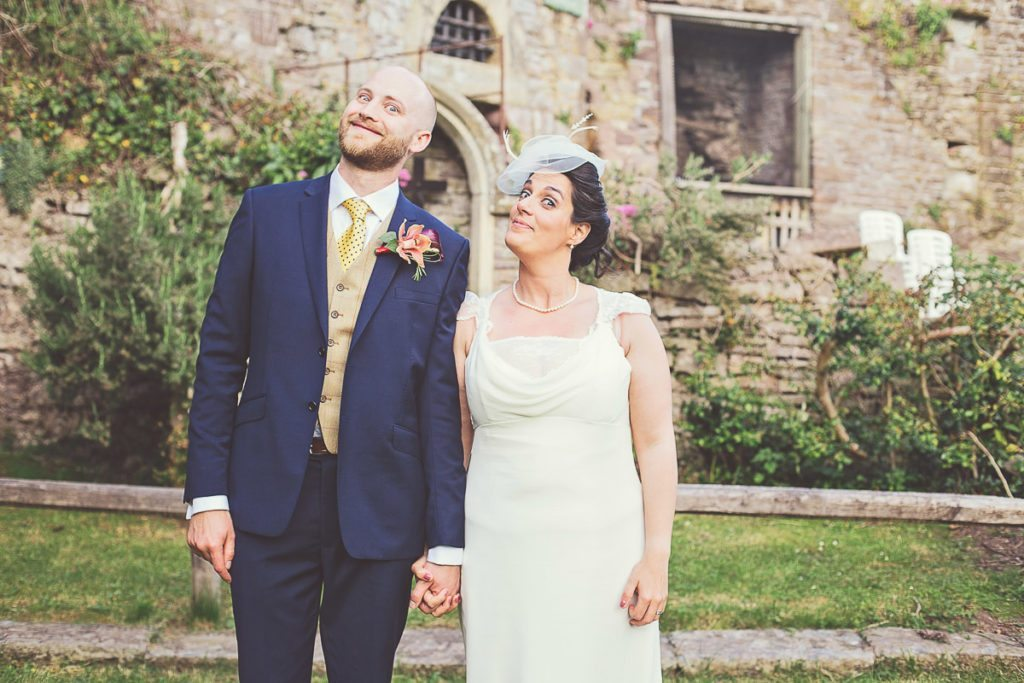 Italian wedding photography at Usk Castle 159