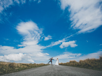 Brecon Beacons Wedding Photography : Backyard Wedding - Ed & Kirstie