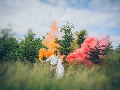 Somerset Wedding Photography : Bohemian Outdoor Handfasting - Chris & Ruth