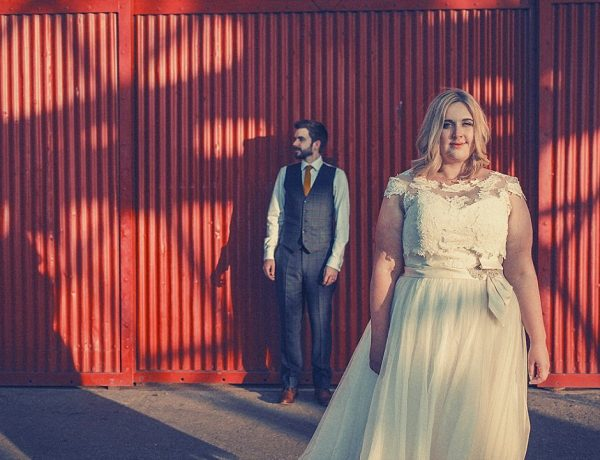 Wes Anderson Style Wedding. M Shed Bristol. Larissa Joice Photography