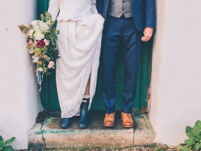 River Cottage Wedding Photography: Louise & Andrew's Winter Wedding