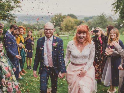 Hayley & Josh : The Inn at Penallt - A small fun filled wedding