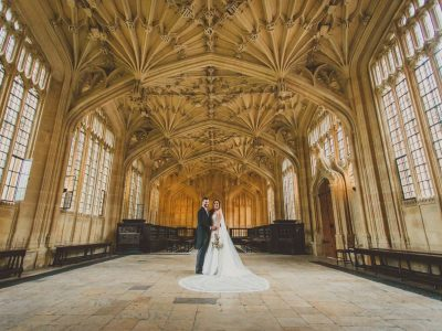 Bodleian Library Wedding in Oxford : Jane & Oliver